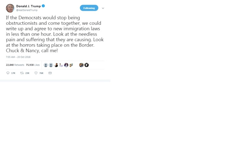 trump immigration tweet