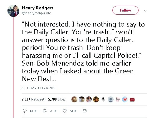 Henry Rogers Daily Caller